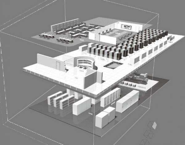 弱电数据中心机房设计及施工