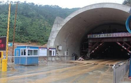 中建三局隧道门禁定位考勤系统