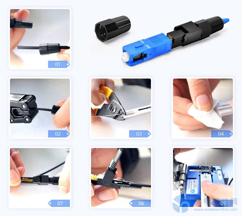 光纤快速连接器