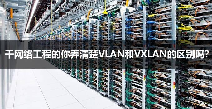 干网络工程的你弄清楚VLAN和VXLAN的区别吗?