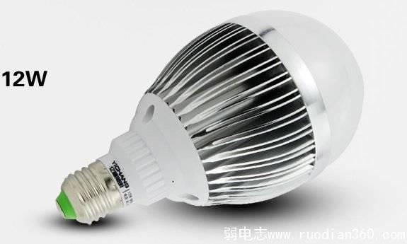 [弱电百科]常见LED球泡灯的结构