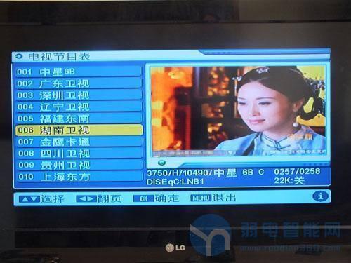 卫星电视调星入门教程