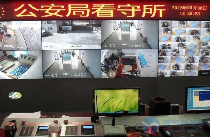监狱、看守所网络数字音视频监控系统解决方案