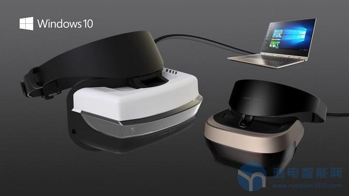 联想联合微软发布基于Windows全息平台的首款VR头戴