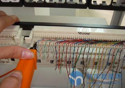 「技术干货」图文并茂的教你学会110语音配线架的线缆打法