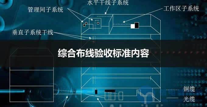 弱电网络综合布线系统验收标准及内容