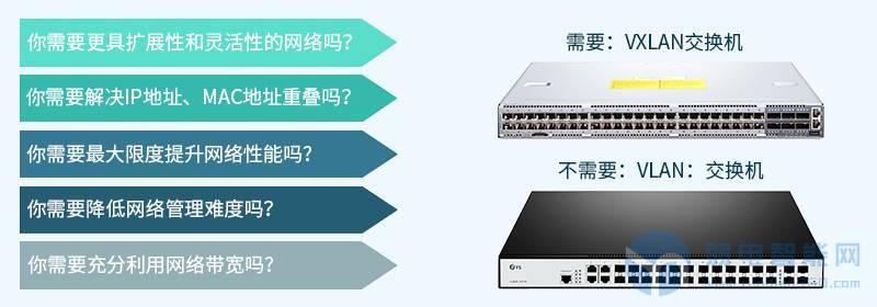VLAN交换机和VXLAN交换机