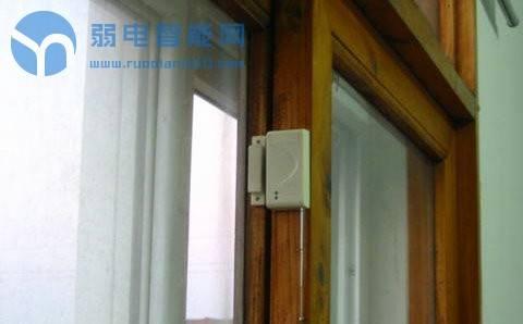侧滑门或侧滑柜门磁安装示意图
