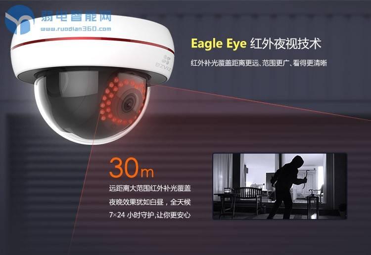 海康威视萤石C4S商铺监控摄像头安装视频