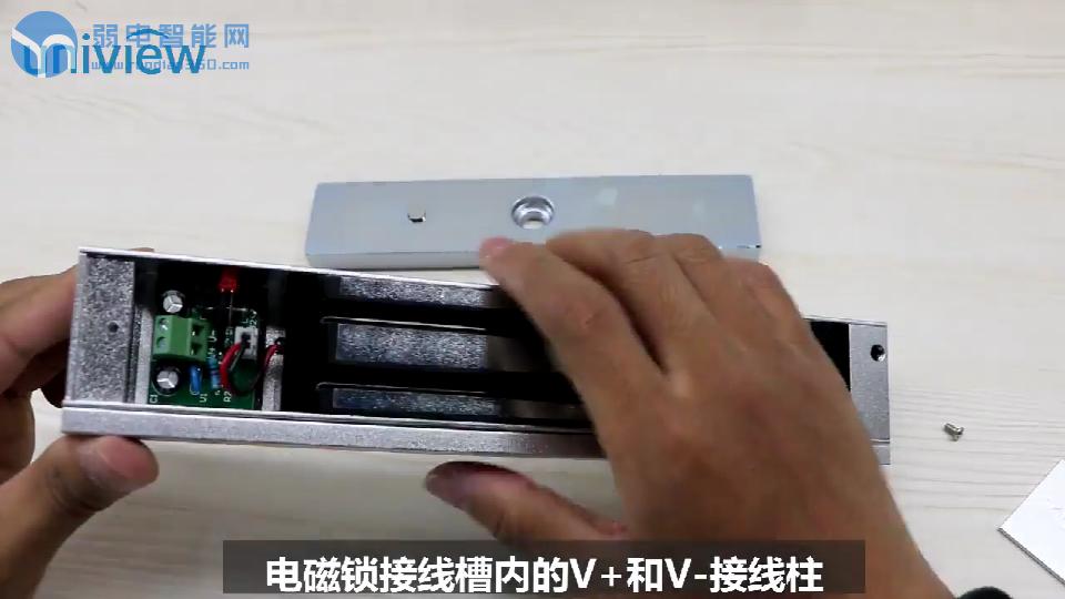 门禁磁力锁接门禁电源控制器指导视频